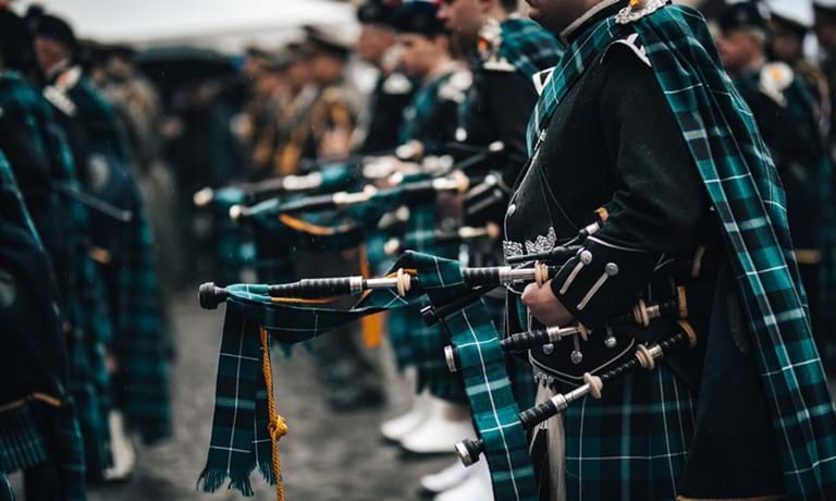 Pipers for The Royal Edinburgh Military Tattoo