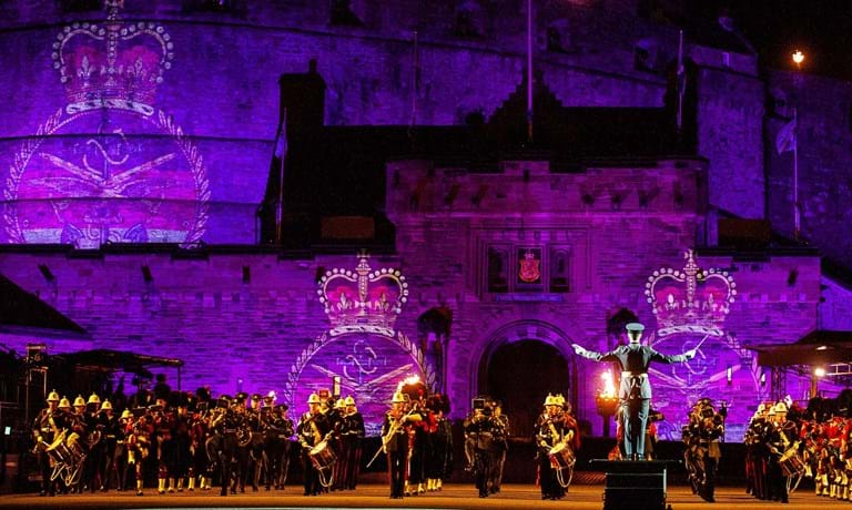 The Royal Edinburgh Military Tattoo Finale 2018